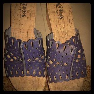 Kork Wedge Sandals